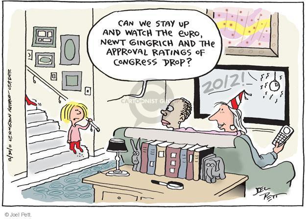 Cartoonist Joel Pett  Joel Pett's Editorial Cartoons 2011-12-30 election day