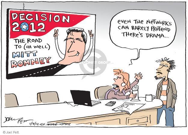Joel Pett  Joel Pett's Editorial Cartoons 2012-01-04 political media
