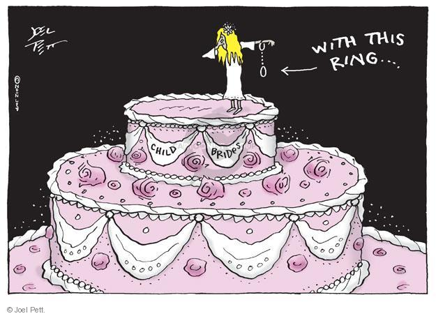 Cartoonist Joel Pett  Joel Pett's Editorial Cartoons 2012-01-05 cake
