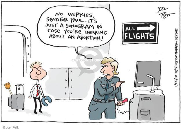 Joel Pett  Joel Pett's Editorial Cartoons 2012-01-25 worry