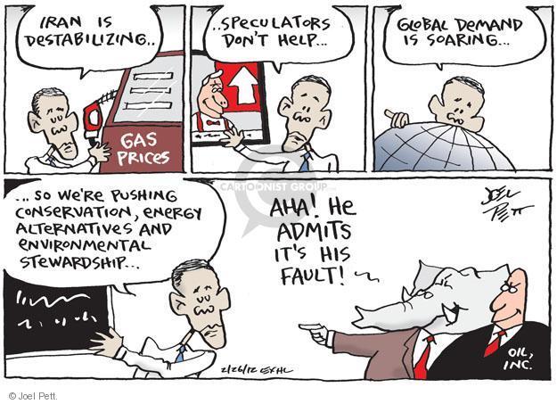 Cartoonist Joel Pett  Joel Pett's Editorial Cartoons 2012-02-26 alternative energy