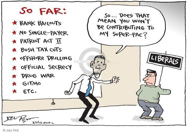Cartoonist Joel Pett  Joel Pett's Editorial Cartoons 2012-03-07 bailout