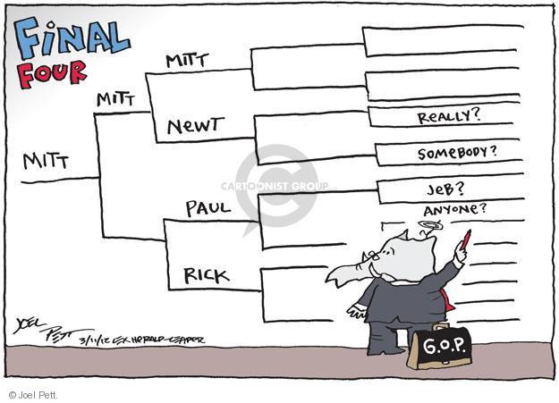 Joel Pett  Joel Pett's Editorial Cartoons 2012-03-11 speaker