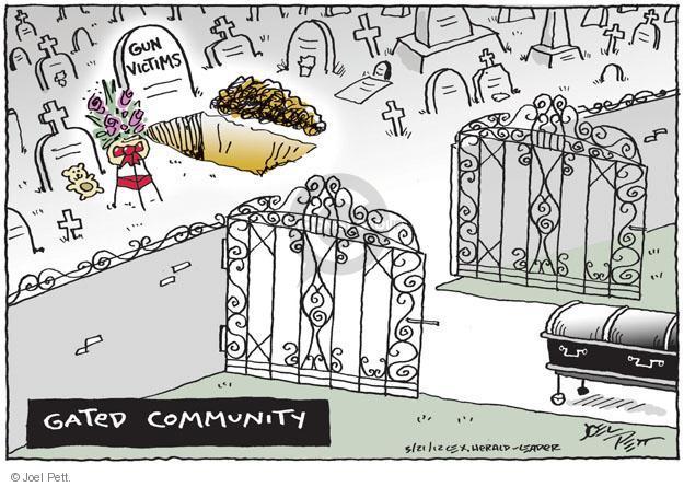 Joel Pett  Joel Pett's Editorial Cartoons 2012-03-21 weapon