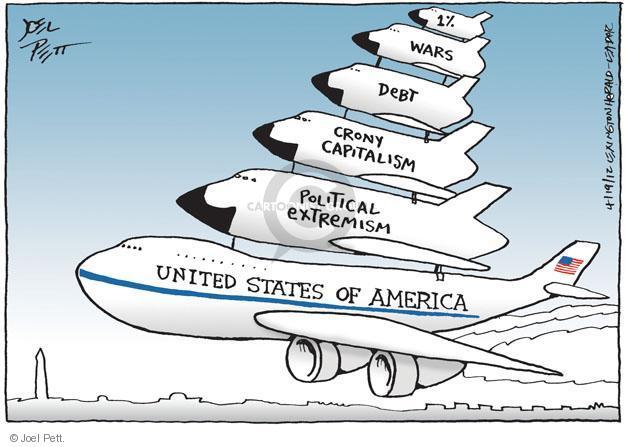 Joel Pett  Joel Pett's Editorial Cartoons 2012-04-19 crony