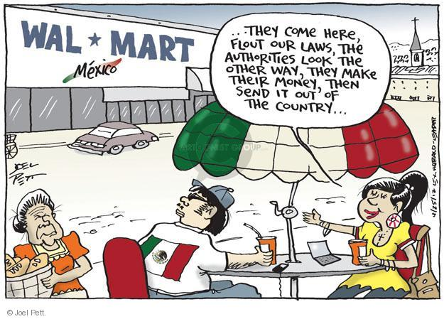 Joel Pett  Joel Pett's Editorial Cartoons 2012-04-25 Mexican