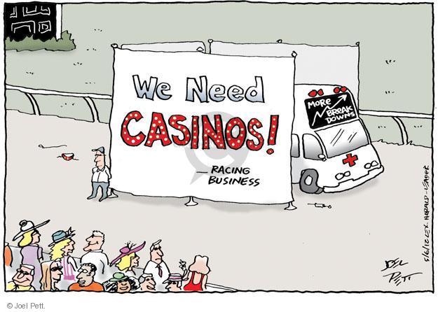 Joel Pett  Joel Pett's Editorial Cartoons 2012-05-06 casino