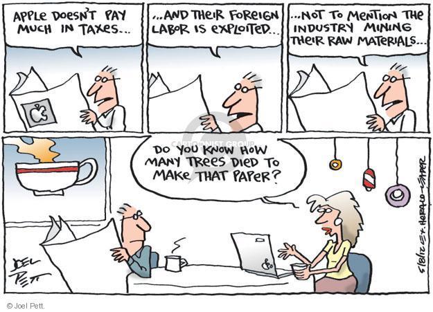 Cartoonist Joel Pett  Joel Pett's Editorial Cartoons 2012-05-08 tax