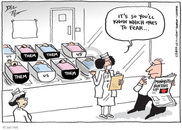 Joel Pett  Joel Pett's Editorial Cartoons 2012-05-18 demographics