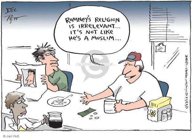 Cartoonist Joel Pett  Joel Pett's Editorial Cartoons 2012-05-23 election day