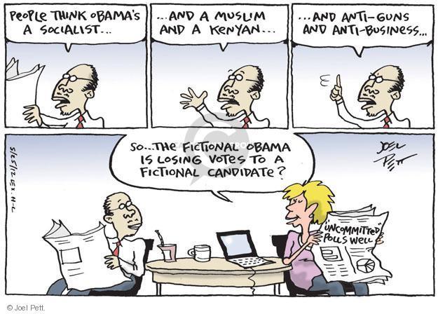 Cartoonist Joel Pett  Joel Pett's Editorial Cartoons 2012-05-25 Kenyan