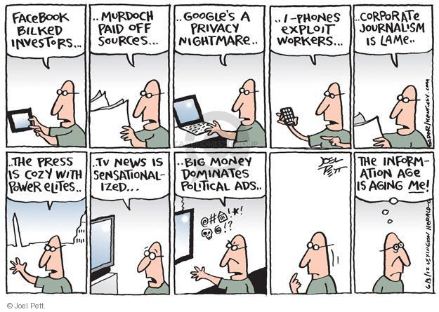 Joel Pett  Joel Pett's Editorial Cartoons 2012-06-03 political media