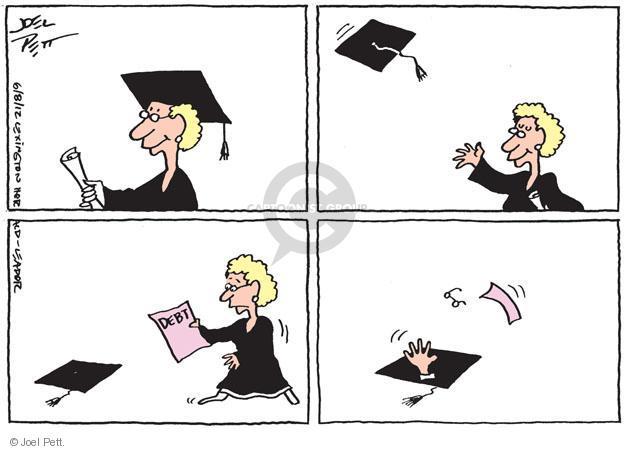 Joel Pett  Joel Pett's Editorial Cartoons 2012-06-08 debt