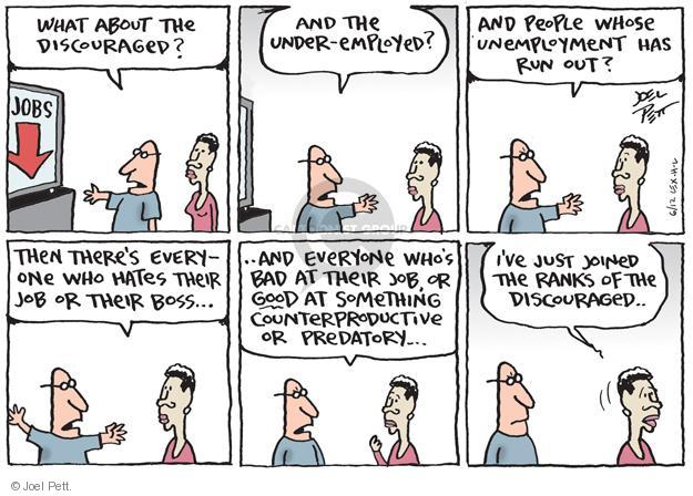 Cartoonist Joel Pett  Joel Pett's Editorial Cartoons 2012-06-17 unemployment
