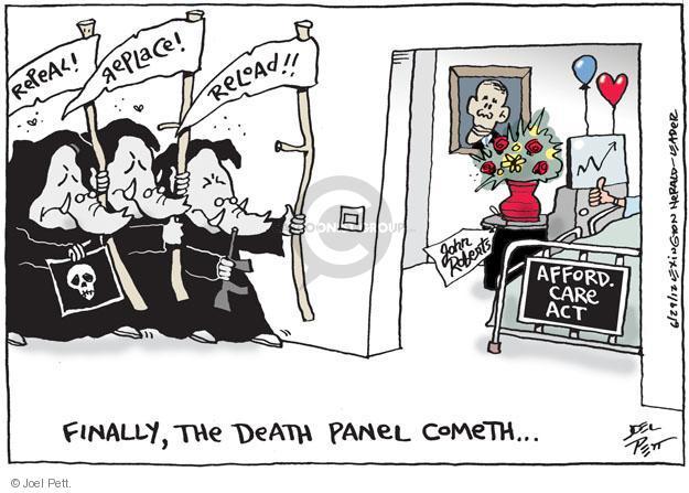 Cartoonist Joel Pett  Joel Pett's Editorial Cartoons 2012-06-29 Robert