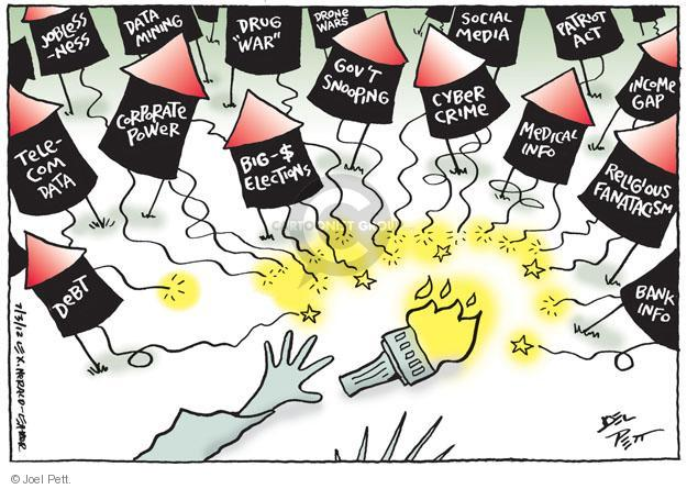 Cartoonist Joel Pett  Joel Pett's Editorial Cartoons 2012-07-03 power