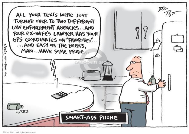 Joel Pett  Joel Pett's Editorial Cartoons 2012-07-10 telephone