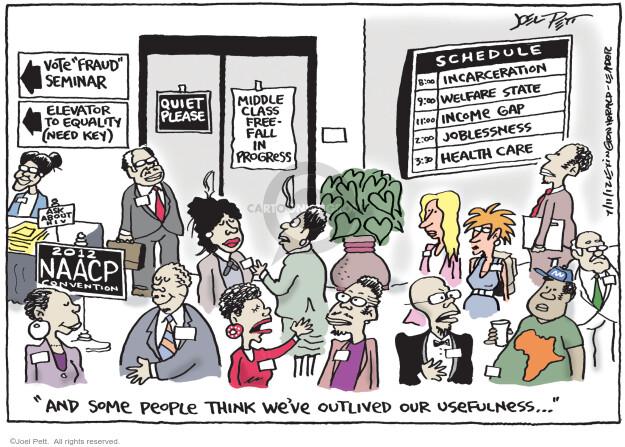 Joel Pett  Joel Pett's Editorial Cartoons 2012-07-11 voter fraud