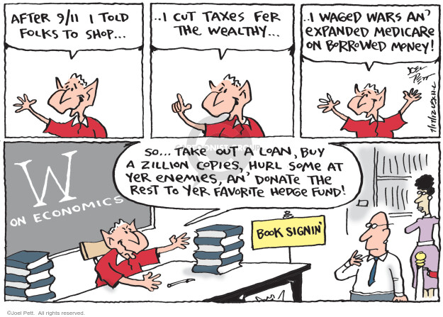 Cartoonist Joel Pett  Joel Pett's Editorial Cartoons 2012-07-17 bookshop