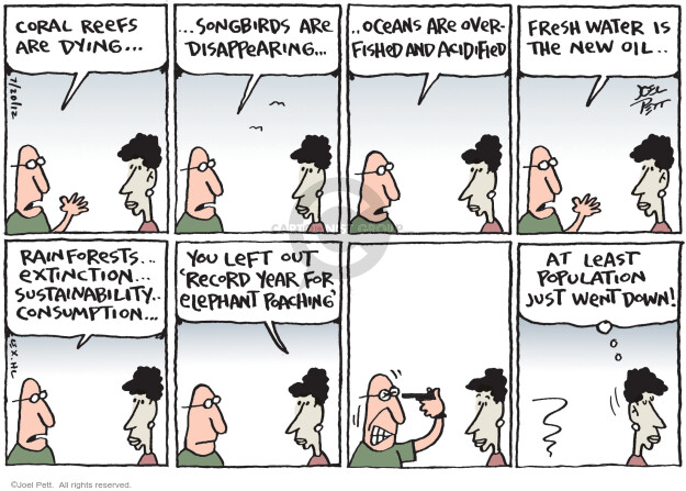 Joel Pett  Joel Pett's Editorial Cartoons 2012-07-20 ocean