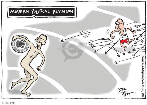 Joel Pett  Joel Pett's Editorial Cartoons 2012-07-31 2012 Olympics