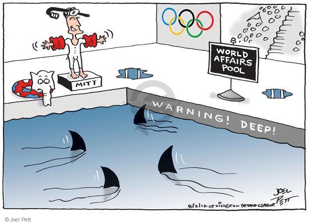 Joel Pett  Joel Pett's Editorial Cartoons 2012-08-02 2012 Olympics