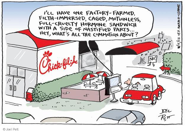 Cartoonist Joel Pett  Joel Pett's Editorial Cartoons 2012-08-05 homosexual