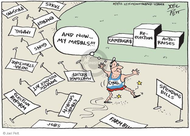 Joel Pett  Joel Pett's Editorial Cartoons 2012-08-07 tax reform