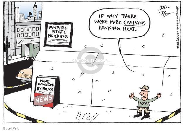 Joel Pett  Joel Pett's Editorial Cartoons 2012-08-28 police violence