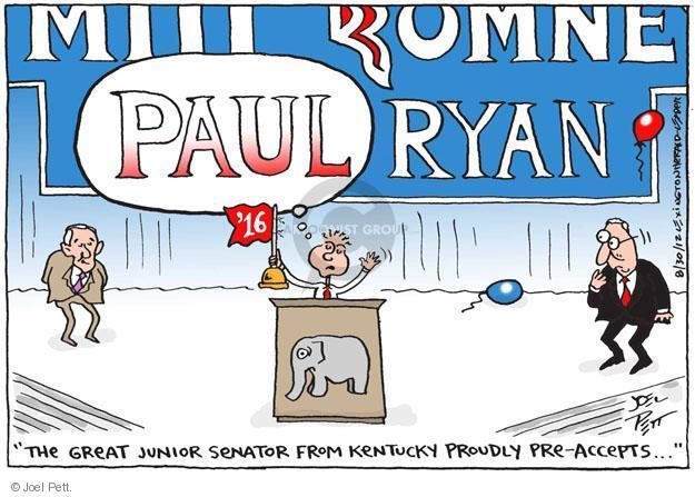 Cartoonist Joel Pett  Joel Pett's Editorial Cartoons 2012-08-30 Florida