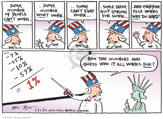 Joel Pett  Joel Pett's Editorial Cartoons 2012-09-02 win