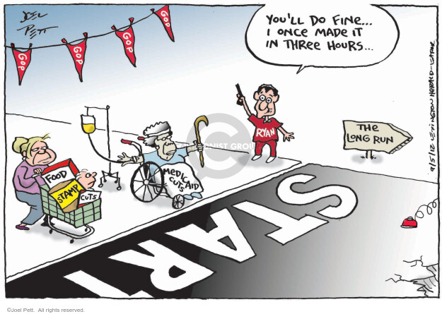 Joel Pett  Joel Pett's Editorial Cartoons 2012-09-05 assistance
