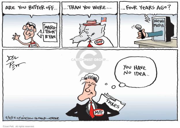 Joel Pett  Joel Pett's Editorial Cartoons 2012-09-09 return