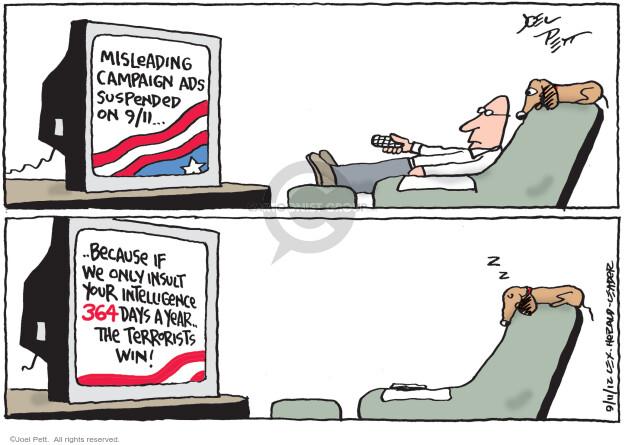 Cartoonist Joel Pett  Joel Pett's Editorial Cartoons 2012-09-11 September