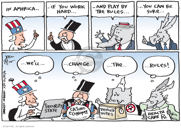 Joel Pett  Joel Pett's Editorial Cartoons 2012-09-16 civil liberty