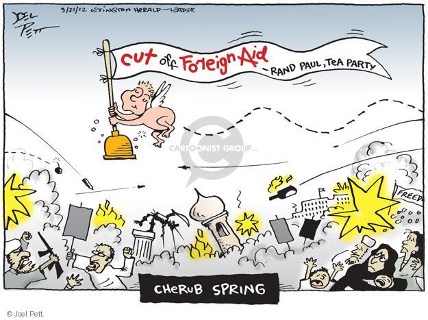 Joel Pett  Joel Pett's Editorial Cartoons 2012-09-21 foreign aid