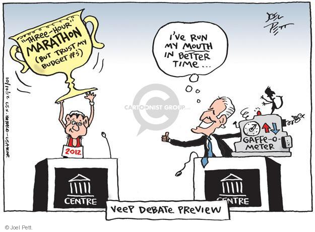 Joel Pett  Joel Pett's Editorial Cartoons 2012-10-10 Joe Biden
