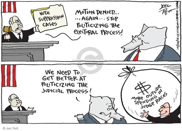 Joel Pett  Joel Pett's Editorial Cartoons 2012-10-12 voting rights