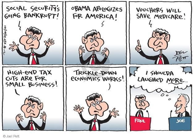 Joel Pett  Joel Pett's Editorial Cartoons 2012-10-14 Joe Biden