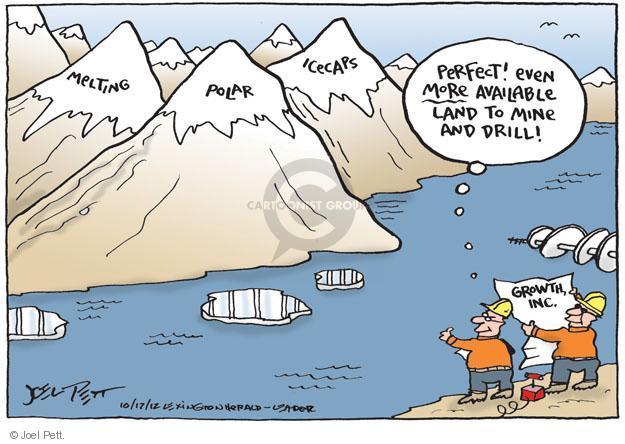 Cartoonist Joel Pett  Joel Pett's Editorial Cartoons 2012-10-17 fuel