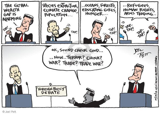 Joel Pett  Joel Pett's Editorial Cartoons 2012-10-19 ocean