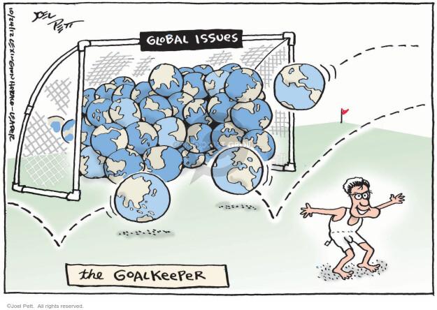 Cartoonist Joel Pett  Joel Pett's Editorial Cartoons 2012-10-24 governor