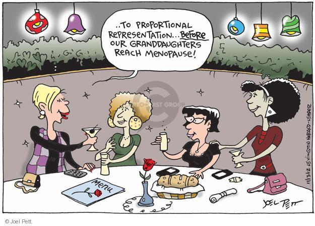 Joel Pett  Joel Pett's Editorial Cartoons 2012-11-14 woman