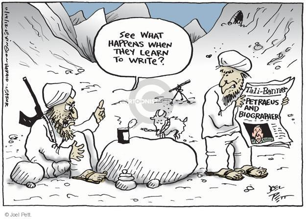 Joel Pett  Joel Pett's Editorial Cartoons 2012-11-14 writing
