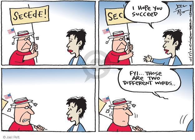 Joel Pett  Joel Pett's Editorial Cartoons 2012-12-05 party