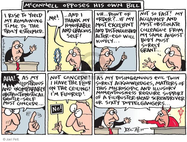 Cartoonist Joel Pett  Joel Pett's Editorial Cartoons 2012-12-11 Republican opposition