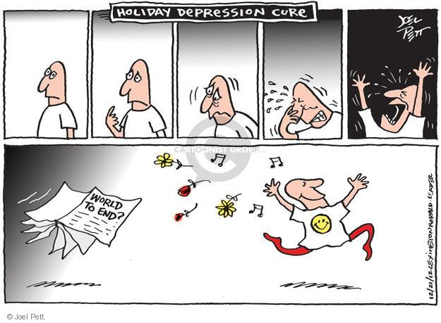 Joel Pett  Joel Pett's Editorial Cartoons 2012-12-21 flower
