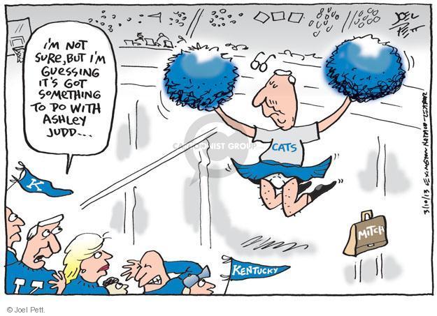 Cartoonist Joel Pett  Joel Pett's Editorial Cartoons 2013-02-10 leader