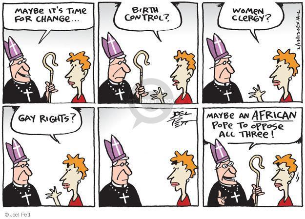 Cartoonist Joel Pett  Joel Pett's Editorial Cartoons 2013-02-13 leader