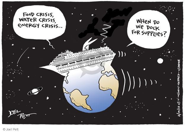 Cartoonist Joel Pett  Joel Pett's Editorial Cartoons 2013-02-19 power